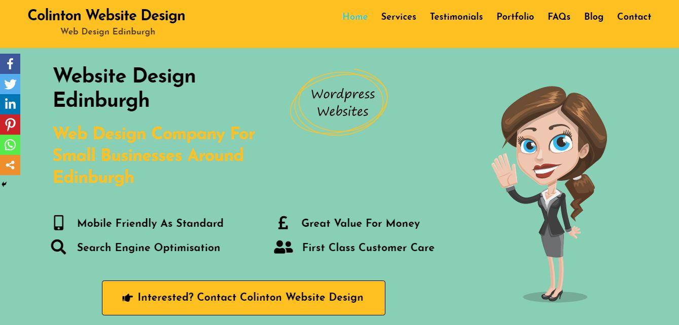 Colinton Website Design